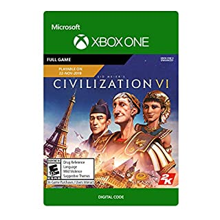 Sid Meier's Civilization VI (Pre-Purchase / Launch Day) Standard - [Xbox One Digital Code]