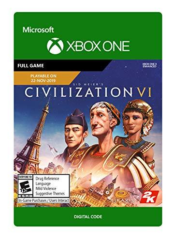 Sid Meier's Civilization VI (Pre-Purchase / Launch Day) Standard - [Xbox One Digital Code]