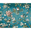 Yxqsed Framless Diy Oil Painting Paint By Number Kits Home Decor Wall Pic Value Gift Linen Material Like Birds In The Branches 16x20 Inch
