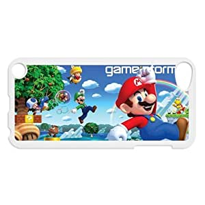 Hot Game Super Mario Brothers Hard Plastic Back Protective Case for Ipod Touch 5 FC-1