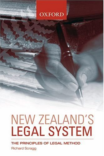 New Zealand's Legal System: The Principles of Legal Method