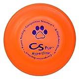 "Hyperflite K-10 Pup Competition Standard Dog Disc- Orange 7"" Diameter"
