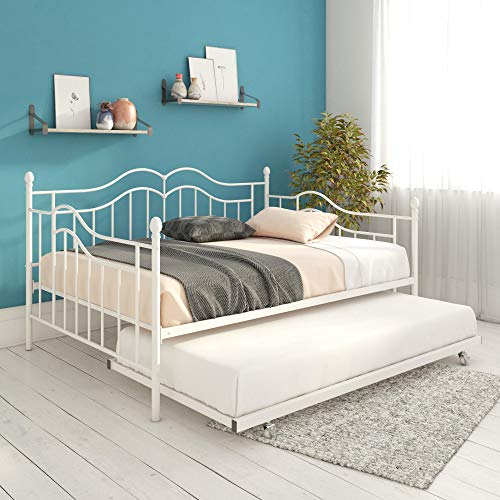 DHP Tokyo Daybed, White, - Inspired Full Metal