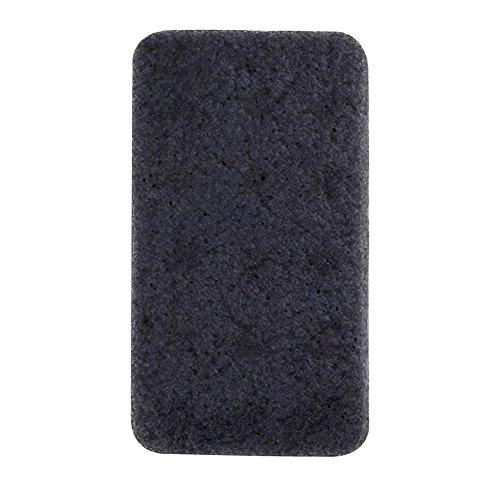 Konjac Sponge For Organic Skin Care Exfoliating - 1 Pack Rectangle Shape Large Size Natural Body Bating Sponge Colors in Random