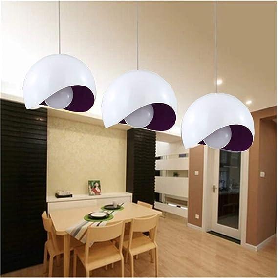 Amazon.com: GZQ Lámpara de techo colgante moderna de montaje ...