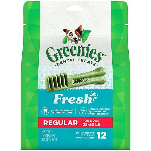 (Greenies Fresh Dog Dental Chew Regular 27oz 27ct)