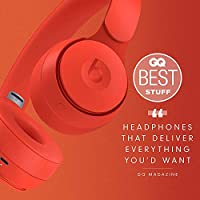 Amazon Com Beats Solo Pro Wireless Noise Cancelling On Ear Headphones Apple H1 Headphone Chip Class 1 Bluetooth Active Noise Cancelling Transparency 22 Hours Of Listening Time Red