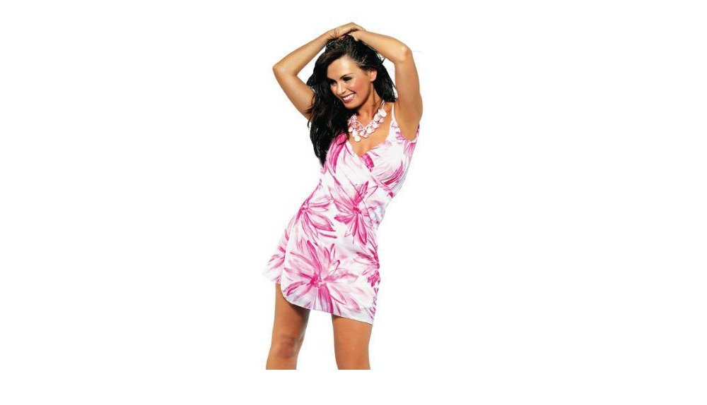 The Ultimate Beach Dress in 'Bloom' - L