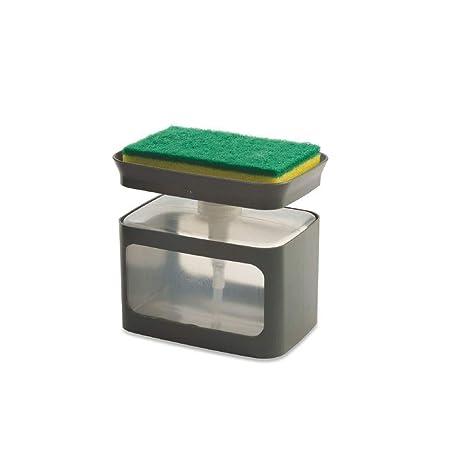 takestop® - Dosificador con Esponja, dispensador de jabón ...