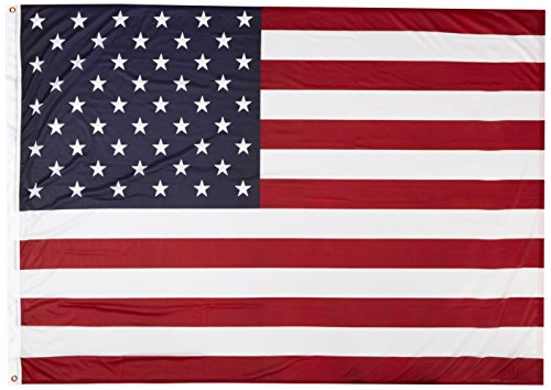 (US Flag Store USA46SPP 4ft x 6ft American Flag Super Knit Polyester, Red, White, Blue)