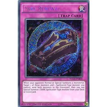 Dark Renewal YGLD-ENB00 1st  YUGIOH Secret Rare Trap Cards
