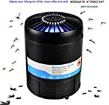 RockBirds Mosquito Trap USB Powered Bug Zapper, UV LED Bug Zapper,Safe and Effective Indoor Electronic Mosquito Light Trap Lamp for Kids and Babies