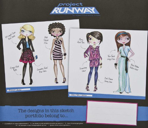 Project Runway Fashion Design Sketch Portfolio Buy Online In Aruba Project Runway Products In Aruba See Prices Reviews And Free Delivery Over 120 ƒ Desertcart