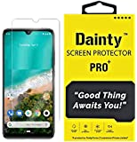 Dainty Tempered Glass Screen Guard Gorilla Protector for Mi A3 with Easy Installation Kit (Full Screen Coverage Except Edges - 11D Original Temper) (Transparent) (Pack of 1)