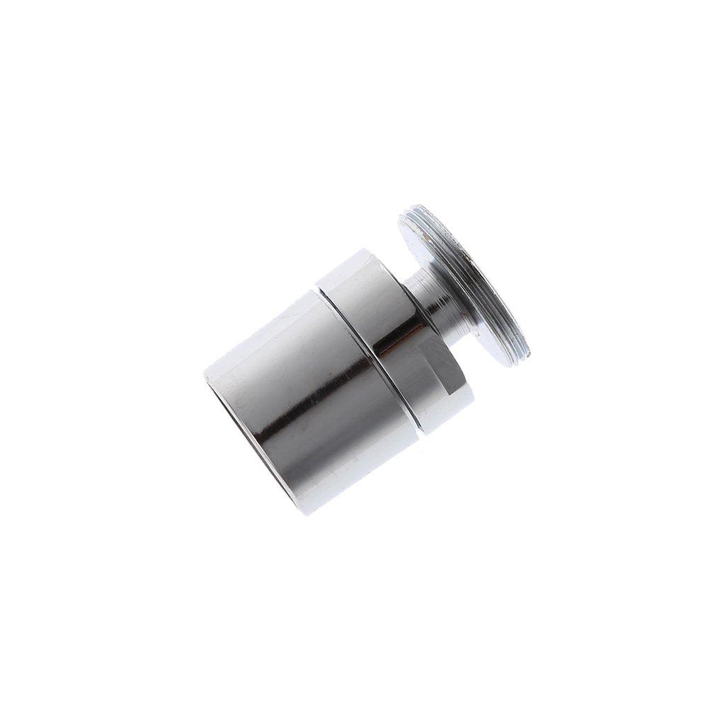 Boquilla para Grifo lat/ón Cromado, 24 mm, giratoria, para Ahorro de Agua huiouer M24