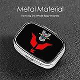 NOT Mazinger Z Square Pill Box Decorative Metal