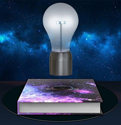 Levitating Light Bulb Lamp Moar Stuff You Don 39 T Need