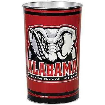 Alabama Crimson Tide 15u0026quot; Waste Basket