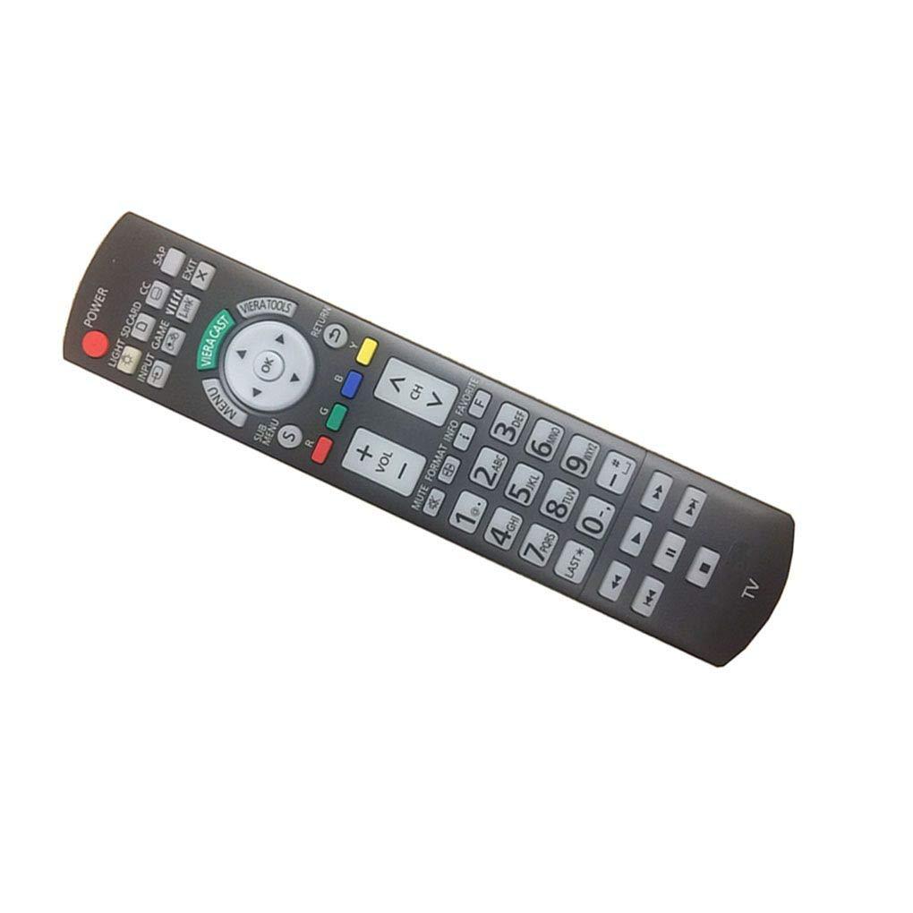 簡単交換リモートConrtrol for Panasonic th-50phd8rk th-58ph10uk Viera LCD LED TV   B01MQVAENH