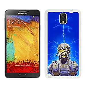 Perfect fit for your beloved phone,100% Brand New Iron Maiden White For Samsung Note 3 Case