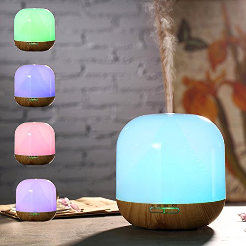 Hippih Multi Color Humidifier Aromatherapy Bedroom