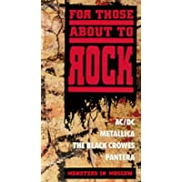 For Those About to Rock: Monsters in Moscow [VHS]