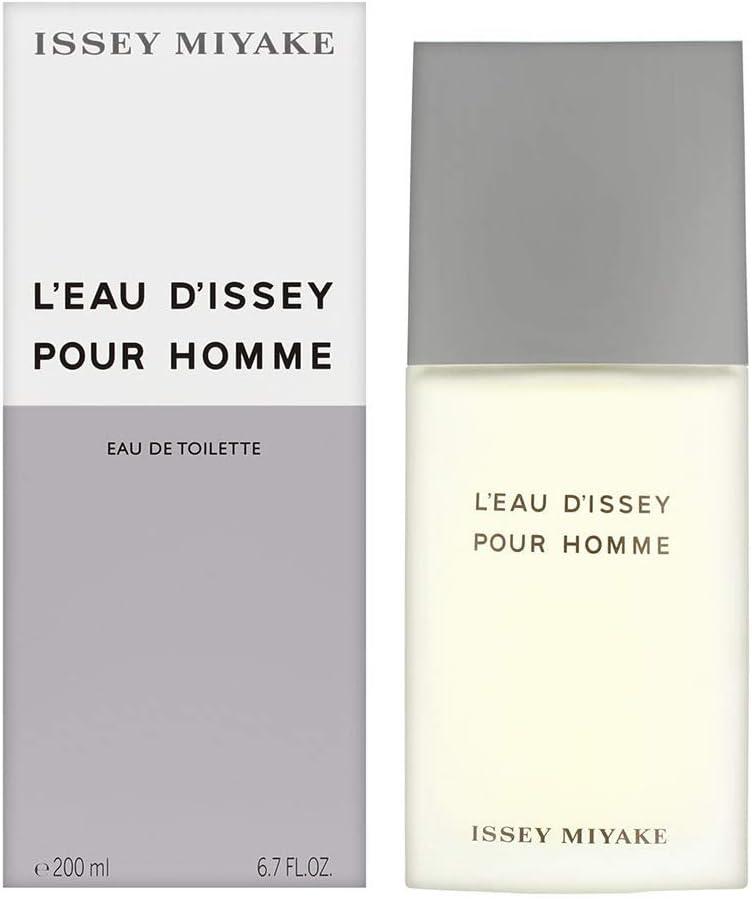 Issey Miyake - LEAU DISSEY HOMME Eau De Toilette vapo 200 ml
