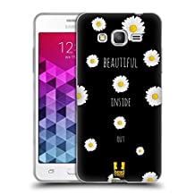 Head Case Designs Inside Out Everything Daisies Soft Gel Case for Samsung Galaxy Grand Prime