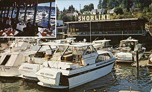 The Shoreline Restaurant Gig Harbor Washington Original Vintage