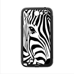 Fashionable Design Zebra Stripes Art Samsung Galaxy Note2 N7100 Plastic and TPU Case Cover