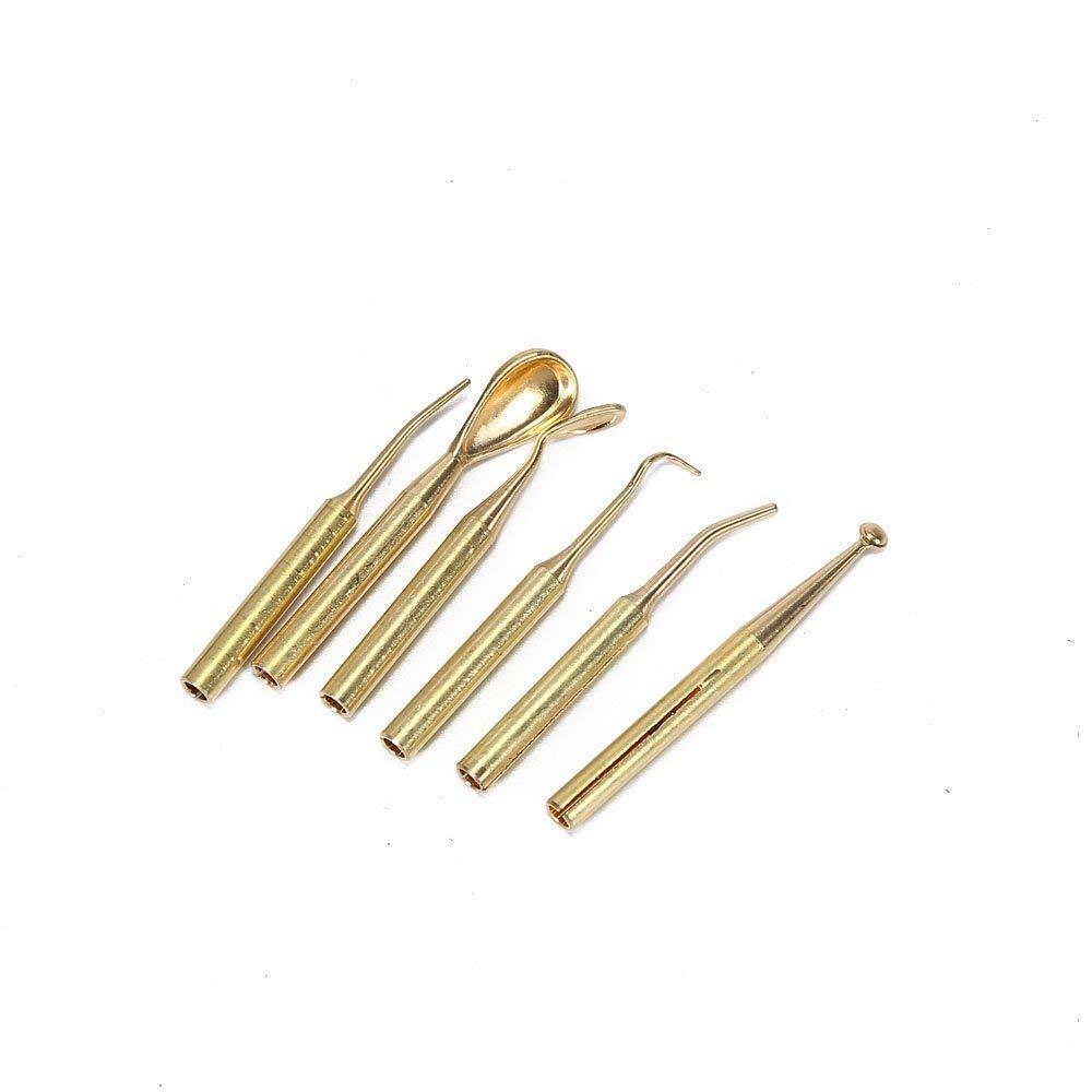 Estuches de 6 puntas para Esp/átulas El/éctricas