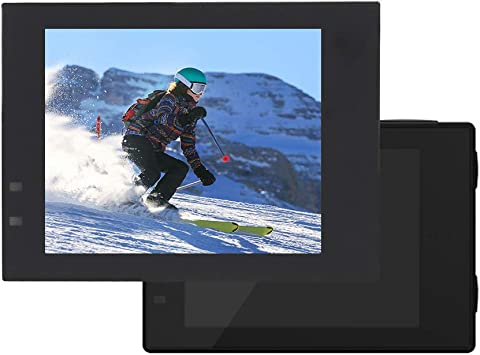 Serounder Sports Camera LCD Display,Portable 2.0 Inch HD Digital Action Camera Professional Replacement Part Camera Shooting Accessory for SJCAM SJ6 Legend