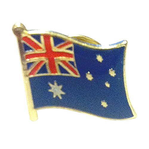 Backwoods Barnaby Australian Flag Lapel - Pin Lapel Hat Tie