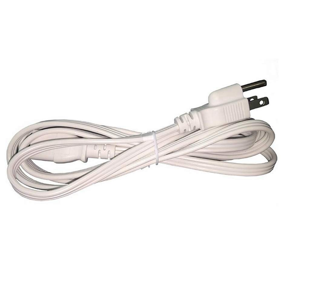 , White 30 Pack etc BYBON 18 AWG SPT-2 Universal Power Cord for Computers Printers Monitors 6ft NEMA 5-15P to C13,UL listed Scanners