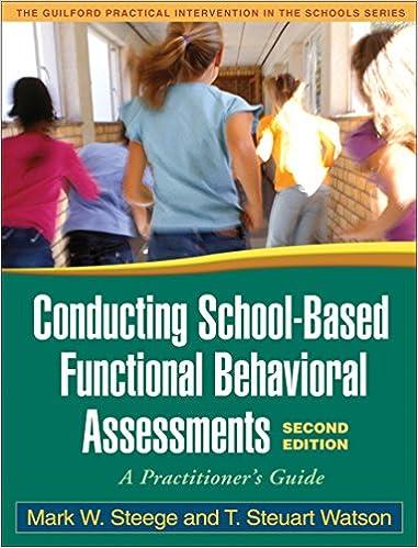 Amazon.com: Conducting School-Based Functional Behavioral ...