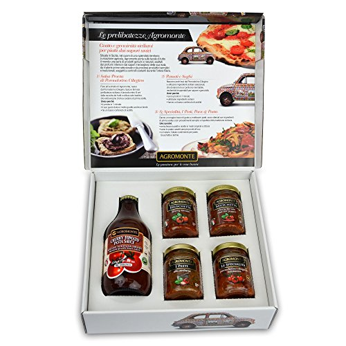 Agromonte Authentic Sauce Gift Set Certified Kosher 25.77 oz