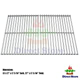 Direct store Parts DS110 Solid Stainless Steel Cooking grids Replacement Grill Master 720-0697;Brinkmann:810-9490-0 ; Uniflame: GBC091W - GBC940WIR - GBC956W1NG-C - GBC981W - GBC981W-C - GBC983W-C Gas Grill