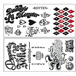 51YQbkP1JUL._AC_UL250_SR250,250_ Harley Quinn Tattoos