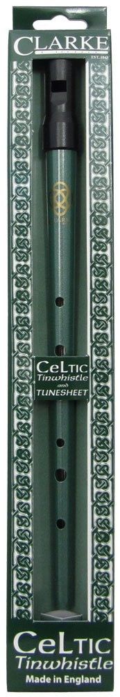 Clarke CWD Celtic Tin Whistle, Key of D KMC Music Inc
