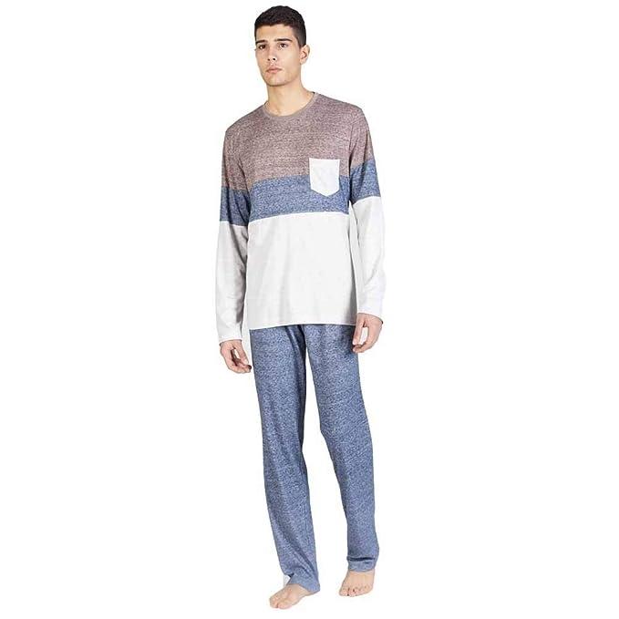 SOY Pijama de Hombre Combinado 182644 - Azul, M