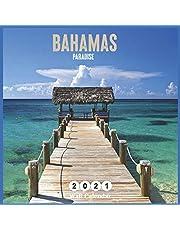 bahamas Paradise: 2021 Wall & Office Calendar, 16 Month Calendar
