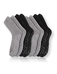 Pembrook Non Skid / Slip Socks - Available in 2-Pack, 4-Pack and 6-Pack