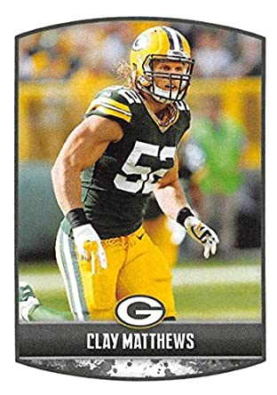 751c6c0cc 2018 Panini NFL Stickers Collection  316 Clay Matthews Green Bay Packers  Official Football Sticker