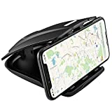 GPS Holder for Car Dashboard,APPS2Car Cell Phone Holder Car Phone Mount & 3.5-6 inch GPS with 3M Tape Hold Mounting in Vehicle Securely for Garmin Tomtom Via GO Magellan Roadmate (GPS Holder for car)