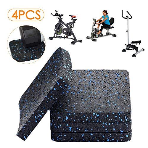 - BestXD Treadmill Mat, Exercise Equipment Mat with High Density Rubber (3.94 X 3.94 X 0.5 inch) (4pcs)