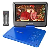 DBPOWER 9.5-Inch Portable DVD Player with Rechargeable Battery, SD Card Slot and USB