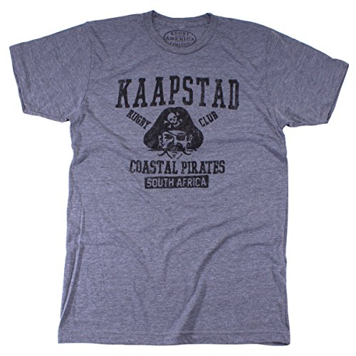 Rugby America Limited Men's Kaapstad Rugby T-Shirt Extra Large Heather ()
