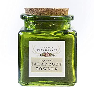 Old World Witchcraft Wild-Harvested Jalap Root Powder for Conquering Obstacles And Financial Success