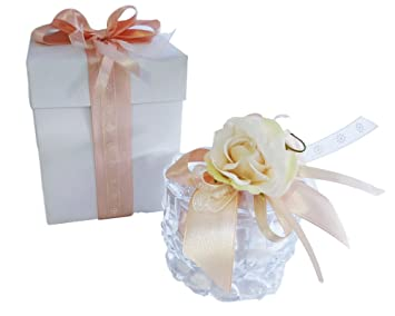 Zelda Bomboniere Bomboniere Hochzeitsgeschenke Aus Glas Mit Box Weiss