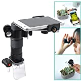 Gosky Multi-use Magnascope / Magniscope and Smartphone Adapter Kit - 25X Microscope, 7X18 Monocular, 4X Magnifier - Take Videos and photos with Smartphone Adapter